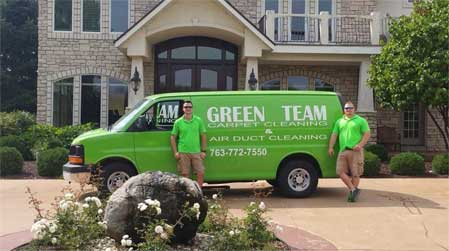 Justin and Ryan (Green Team Owners)